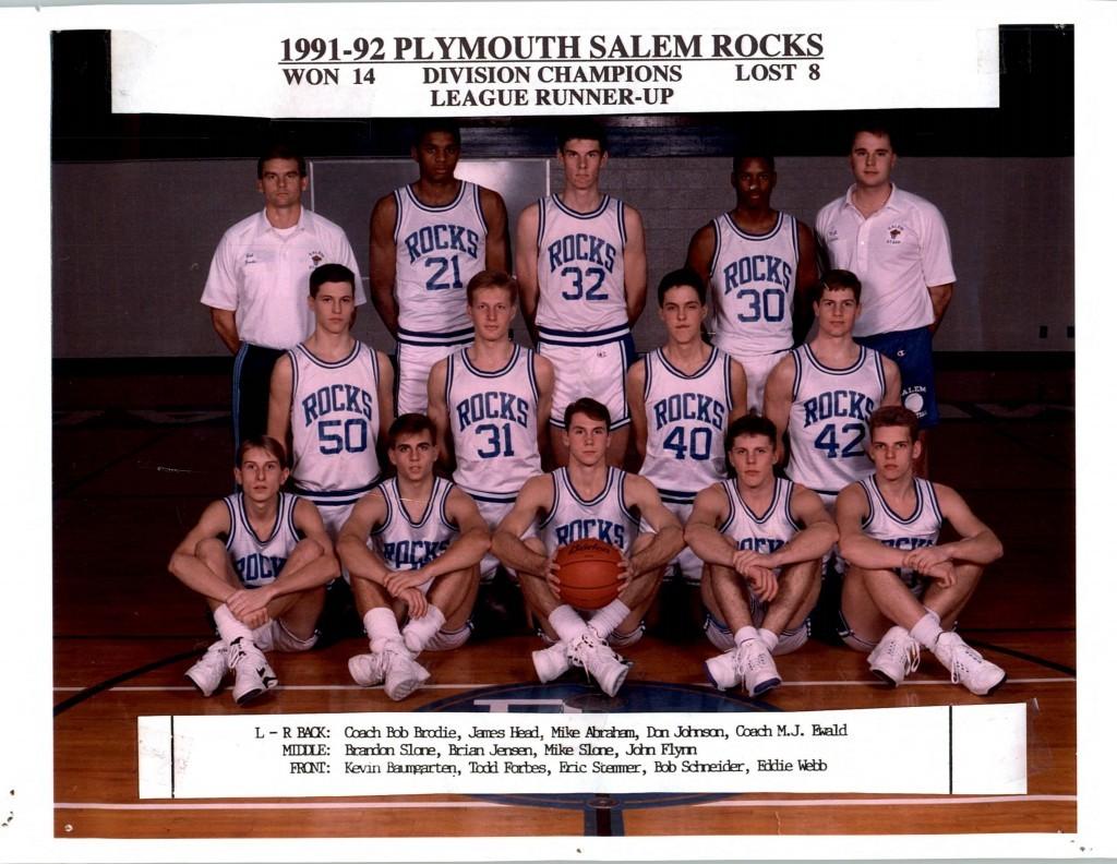 Boys Basketball 1991-1992