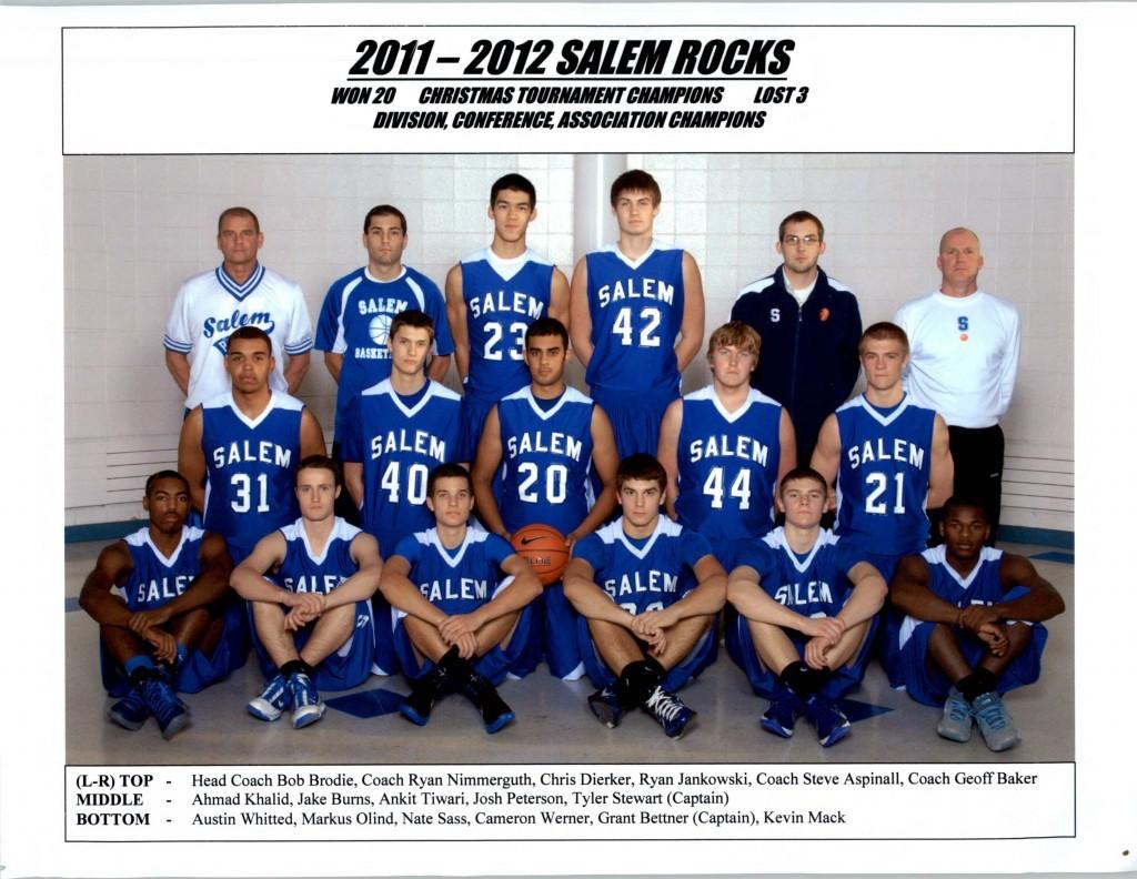 Boys Basketball 2011-2012