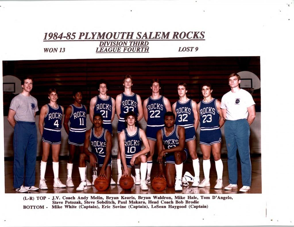 Boys Basketball 1984-1985