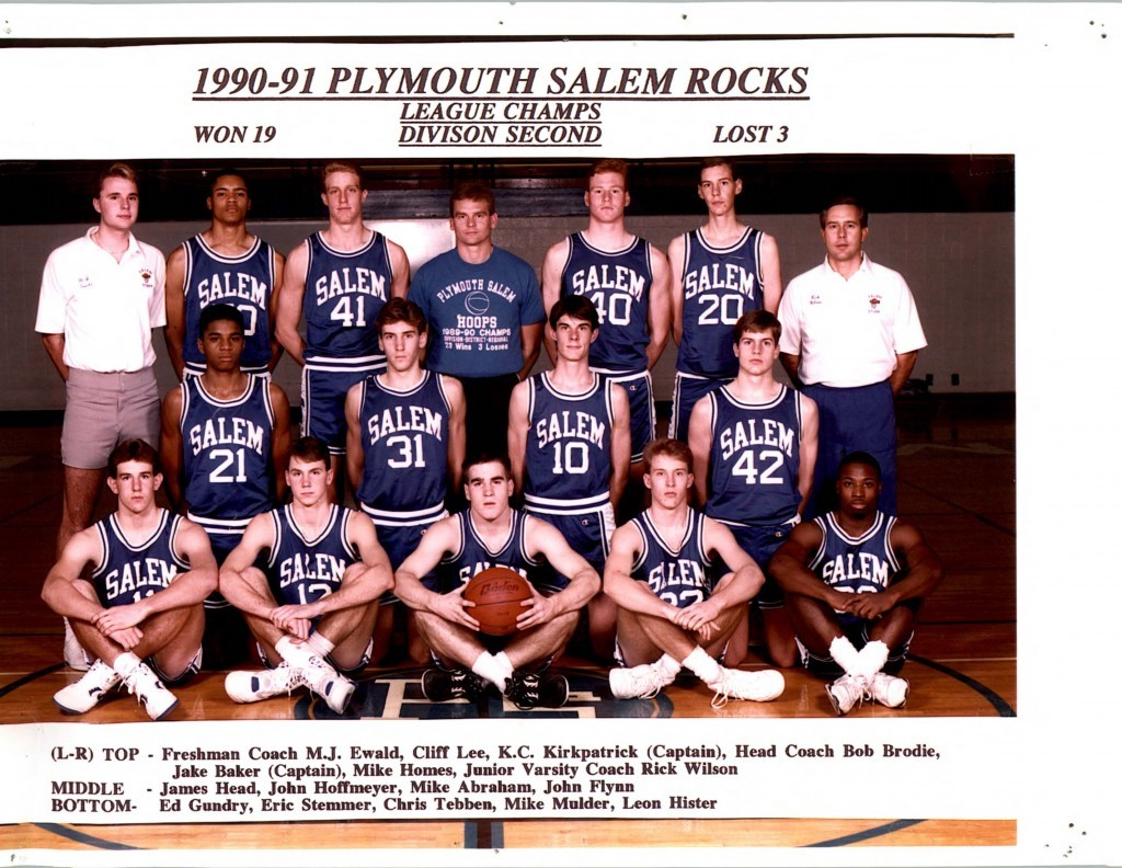 Boys Basketball 1990-1991