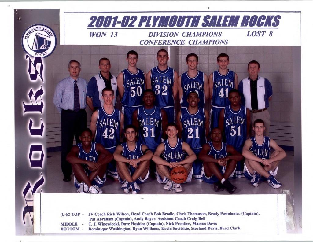 Boys Basketball 2001-2002