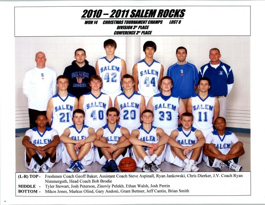 Boys Basketball 2010-2011