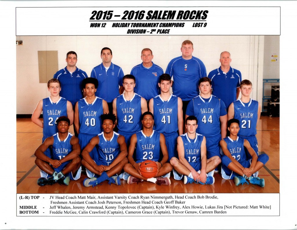Boys Basketball 2015-2016