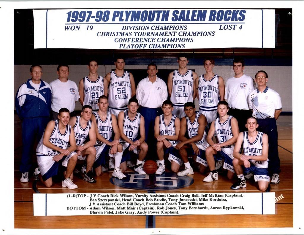 Boys Basketball 1997-1998