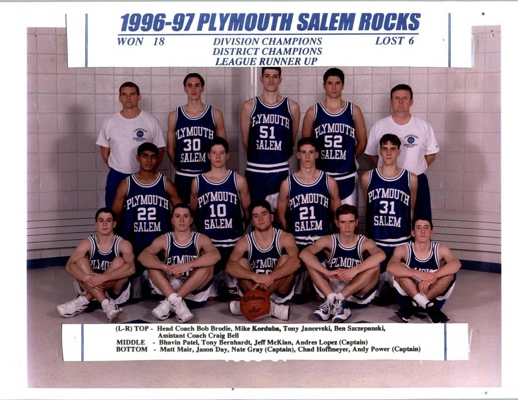 Boys Basketball 1996-1997
