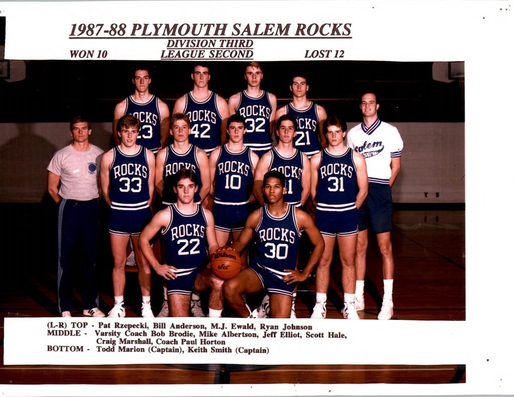 Boys Basketball 1987-1988