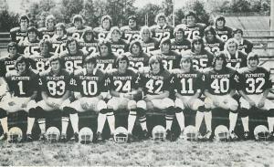 Plaque - 74 football