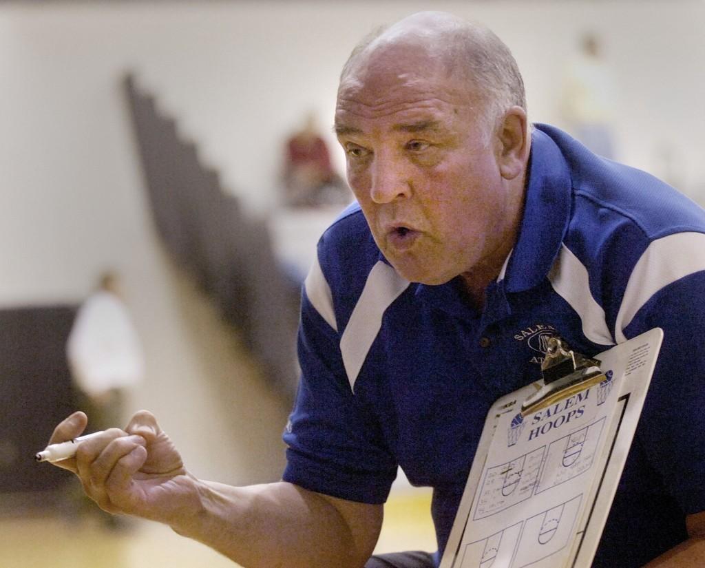 Bill Bresler | Staff Photographer Salem coach Fred Thomann