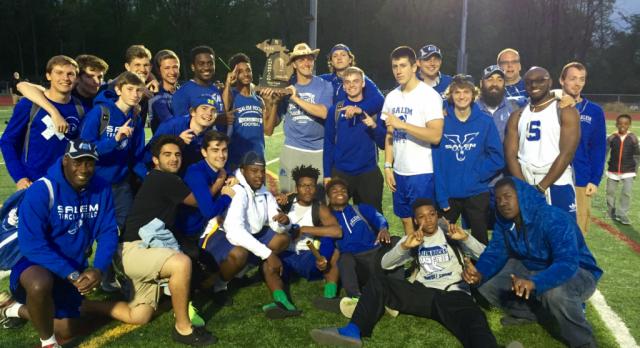 Boys Track & Field Wins Regional Championship