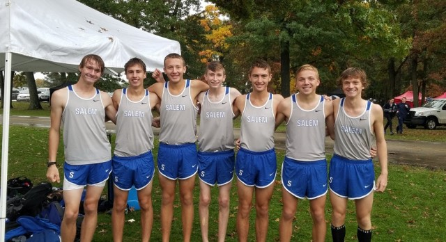 Boys XC Competes at KLAA Championships