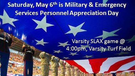 SLAX Military and Emergency Services Personnel Appreciation Day – May 6th