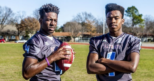Brotherly bond propels TJ football star bound for West Texas A&M