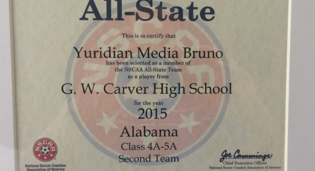 Yuridian Medina Bruno Makes 2nd Team All-State