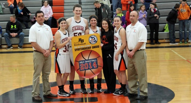Girls Basketball Earns Sportsmanship Award