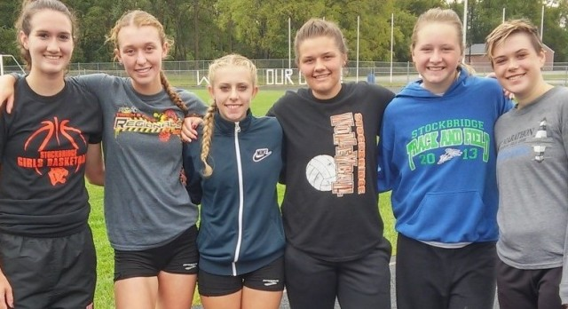 CC Girls run PR's at Bath Invitational