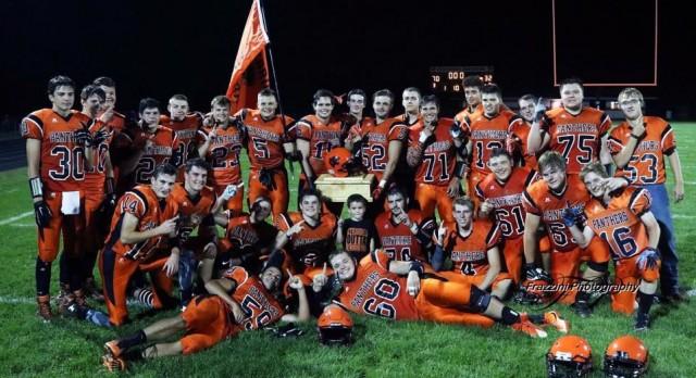 Stockbridge High School Varsity Football beat Leslie High School 70-32