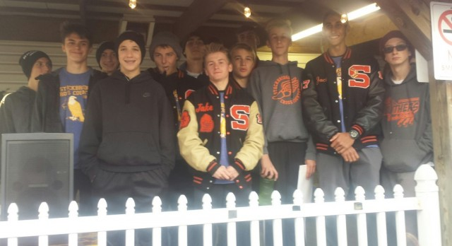 Stockbridge High School Boys Varsity Cross Country finishes 2nd place