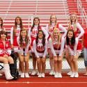 2014 Varsity Fall Cheerleaders