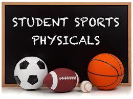 Sports Physicals 2017-2018 School Year