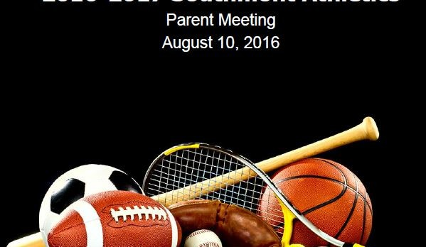Parent/Athlete Meeting Information