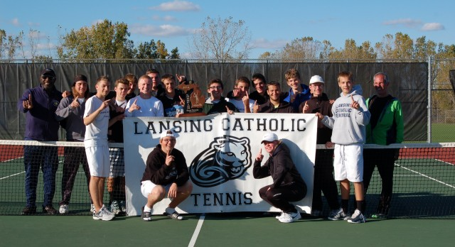 Boys Tennis Wins Regional Tennis!!