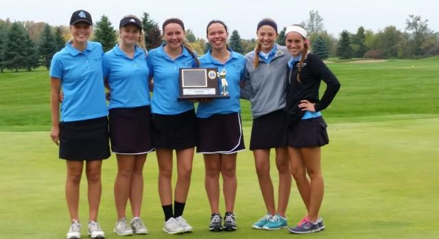 Girls Golf Wins CAAC White Tournament