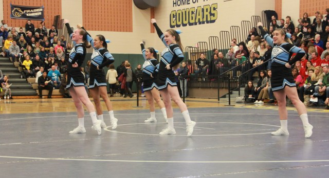 Competitive Cheer Competes Among States Best
