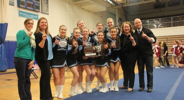 LEAGUE CHAMPIONS!  Cheer Brings Home the Title