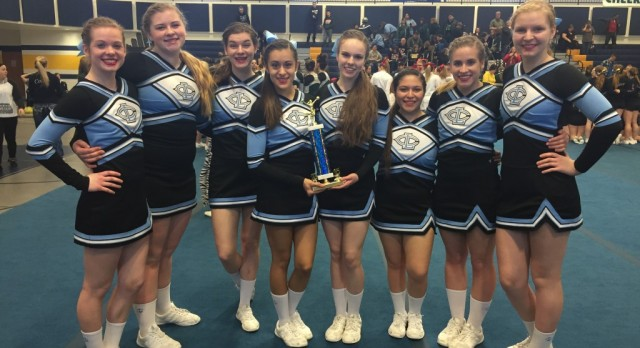 Cheer Team Brings Home More Hardware