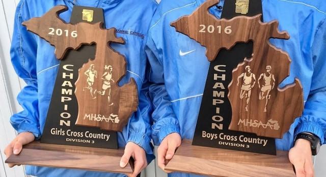 Boys and Girls XC Sweep Regionals AGAIN