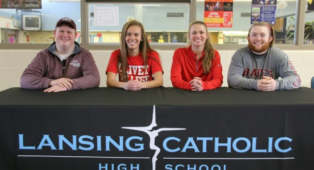 Student-Athletes Sign On To Their Future
