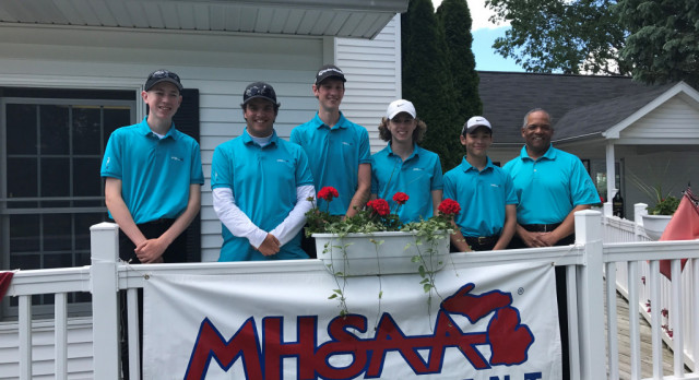 BOYS GOLF:  Headed to the State Finals