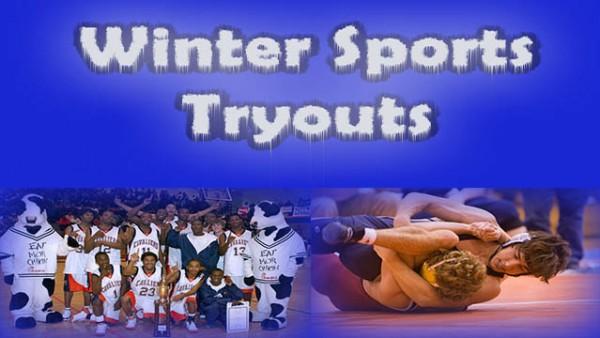 Winter Sports Tryouts