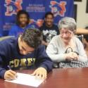 Javier Moreno College Signing