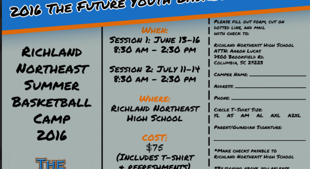 2016 The FUTURE Youth Basketball Camp