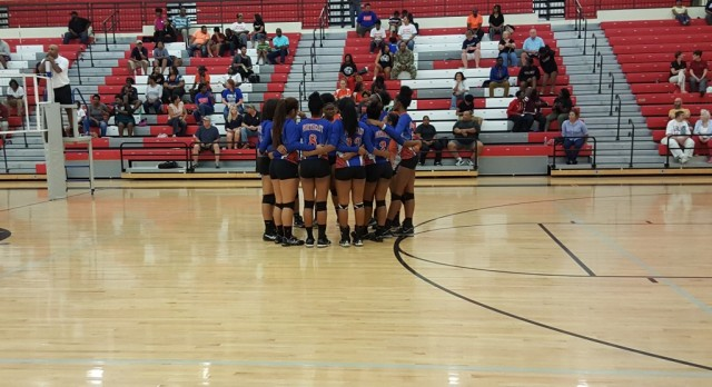 Lady Cavs Volleyball sweeps Redhawks 3-0