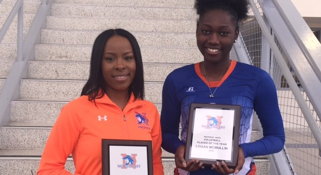 McMullin and James named Region Player and Coach of the Year