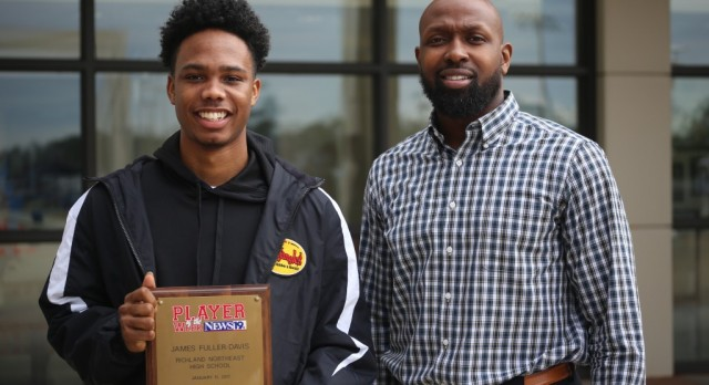 James Fuller-Davis selected WLTX Player of the Week
