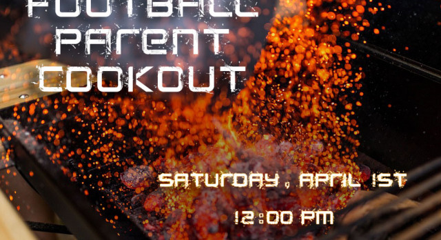 Football Cookout This Saturday