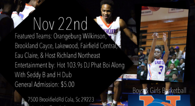 Basketball Jamboree on Nov. 22nd