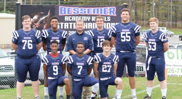 8 Senior Football Players Named 2015 AISA All Stars