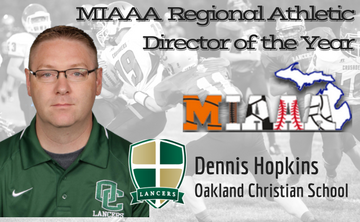 Dennis Hopkins Named Regional Athletic Director of the Year