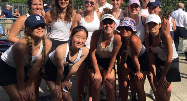 Tennis Team Makes History Twice in One Week