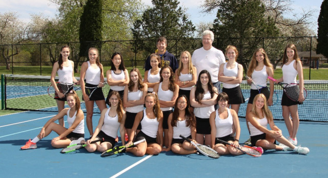 Tennis Co-op Wins Conference Title