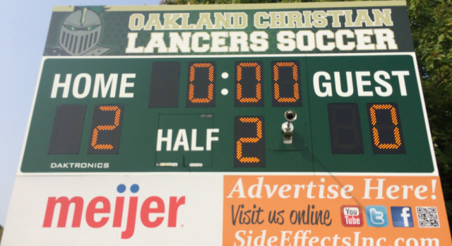 Lancers Win 2-0 Over Plymouth Christian