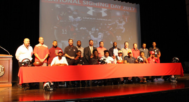 Westfield Signing Day 2017