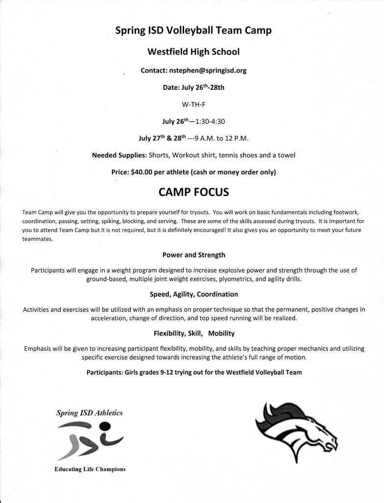 volleyball open gym u0026 summer camp info westfield mustangs