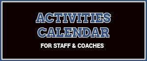 activities calendar outlined