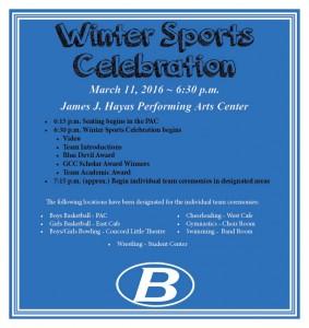 spring sports celebration invite