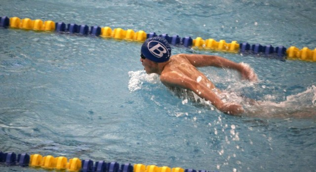 Brunswick Senior High School Boys Varsity Swimming beat Mentor High School 112-63